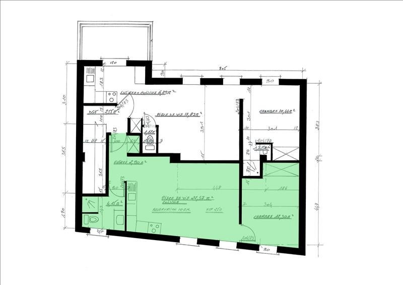 Location appartement Palaiseau 795€ CC - Photo 1