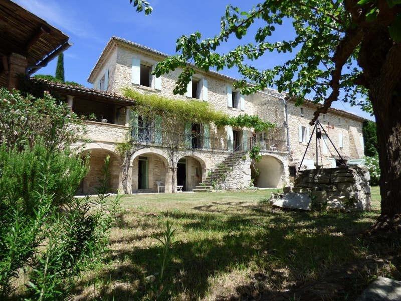 Vente de prestige maison / villa Barjac 799000€ - Photo 1