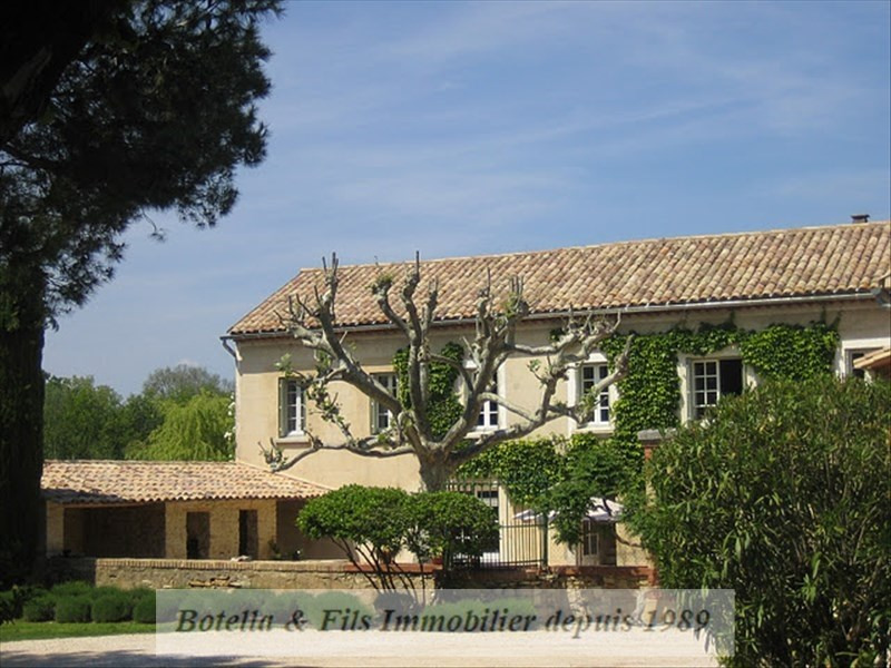 Vente de prestige maison / villa Goudargues 545000€ - Photo 11