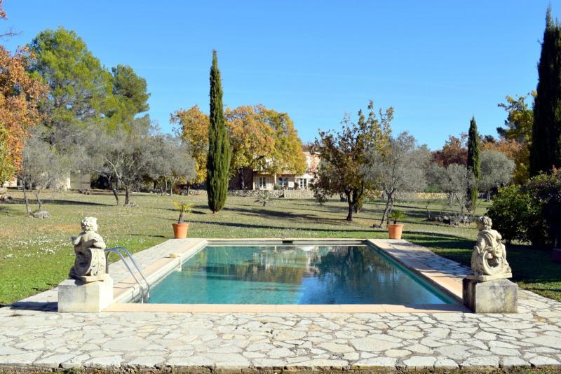 Deluxe sale house / villa Fayence 1085000€ - Picture 1
