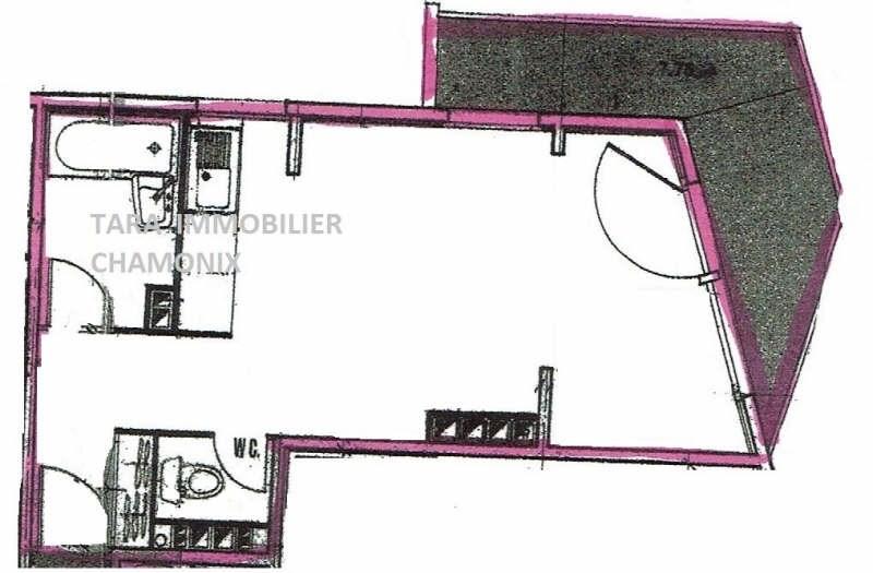 Vente appartement Chamonix mont blanc 197000€ - Photo 9