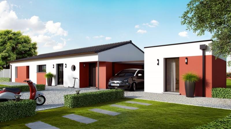 Maison  4 pièces + Terrain 1500 m² Baigneaux par ALPHA CONSTRUCTIONS