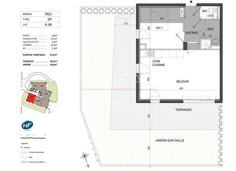 Vente de prestige appartement Antibes 285000€ - Photo 4