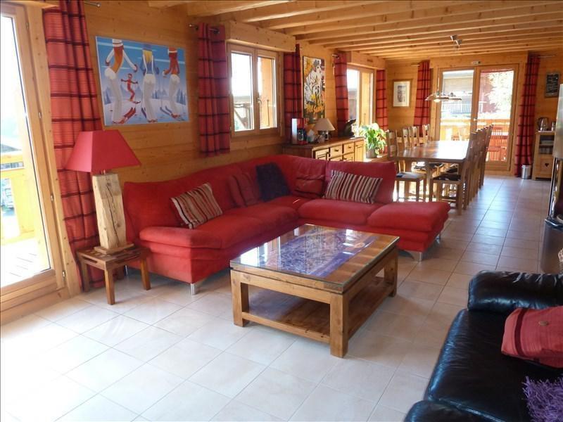 Verkoop van prestige  huis La cote d arbroz 879000€ - Foto 5
