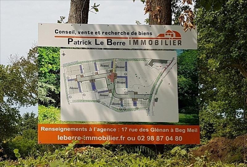 Revenda terreno Fouesnant 180200€ - Fotografia 3