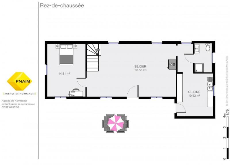 Vente maison / villa Montreuil-l'argille 129000€ - Photo 3