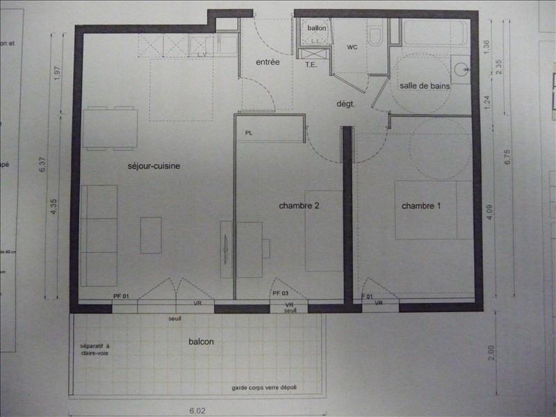 Vente appartement Marsillargues 171000€ - Photo 3