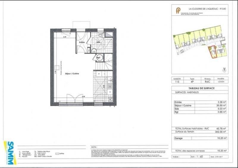 Sale house / villa Mennecy 310000€ - Picture 2