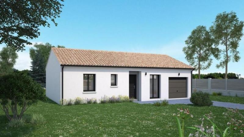 Maison  3 pièces + Terrain 1250 m² Lavoux par Maisons Ericlor