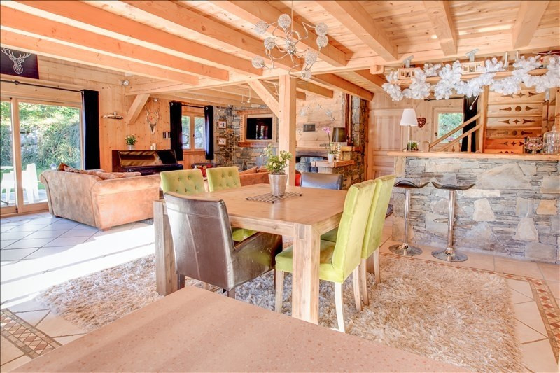 Verkoop van prestige  huis La cote d arbroz 1050000€ - Foto 4