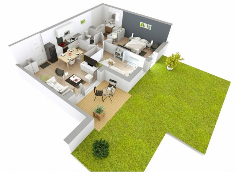 Sale apartment Fontaines sur saone 226000€ - Picture 1