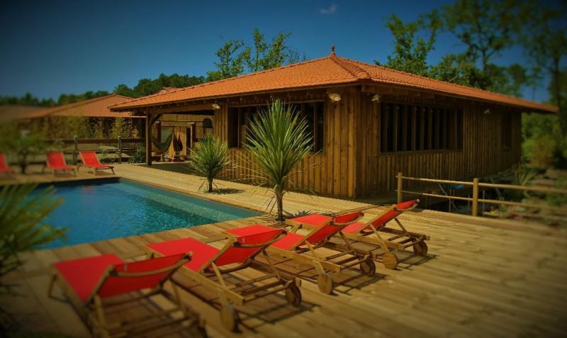 Venta de prestigio  casa Lacanau 501600€ - Fotografía 10