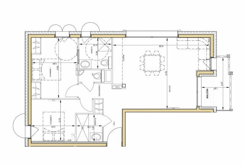 Deluxe sale apartment Chamonix mont blanc 600000€ - Picture 2