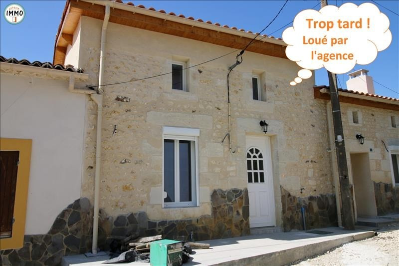 Location maison / villa Mirambeau 490€ CC - Photo 1