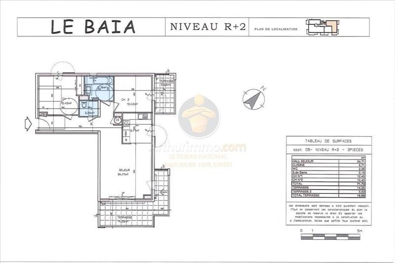 Sale apartment Sainte maxime 436500€ - Picture 5