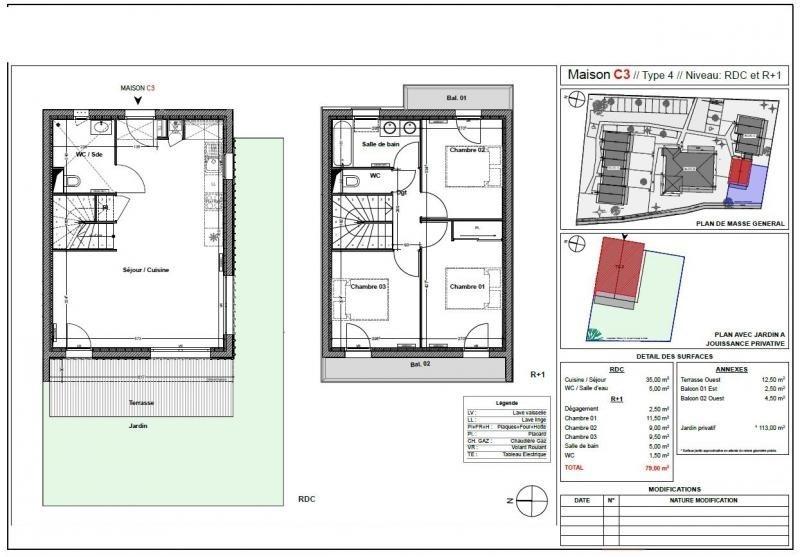 Produit d'investissement maison / villa La teste de buch 352000€ - Photo 3