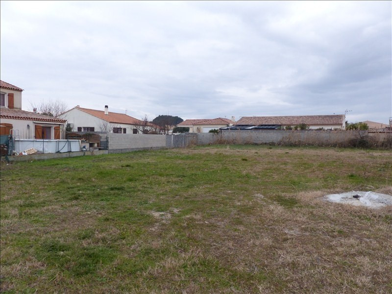 Sale site Montady 122000€ - Picture 1