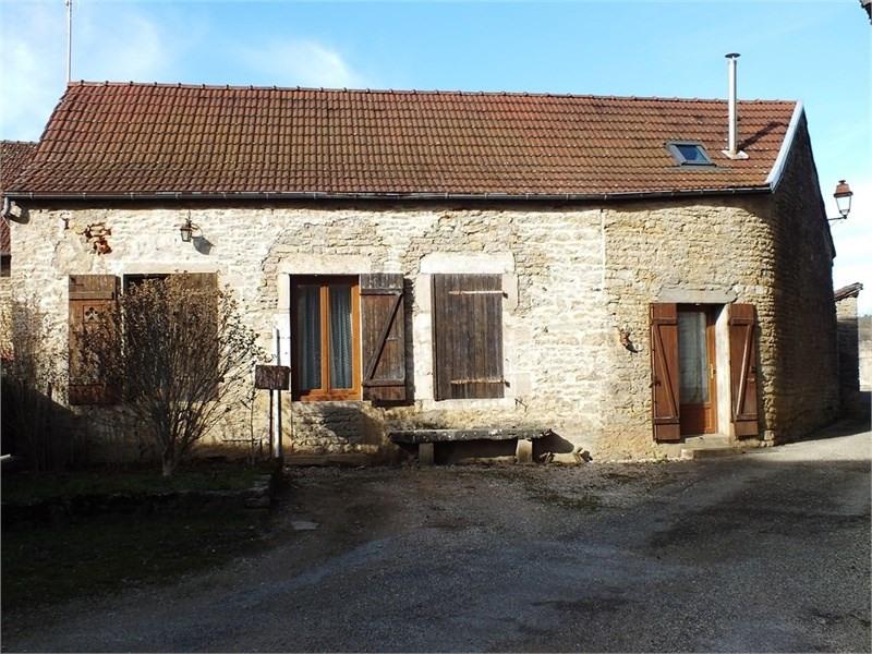 Maison en pierre Commarin
