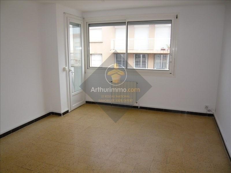 Rental apartment Sete 520€ CC - Picture 1