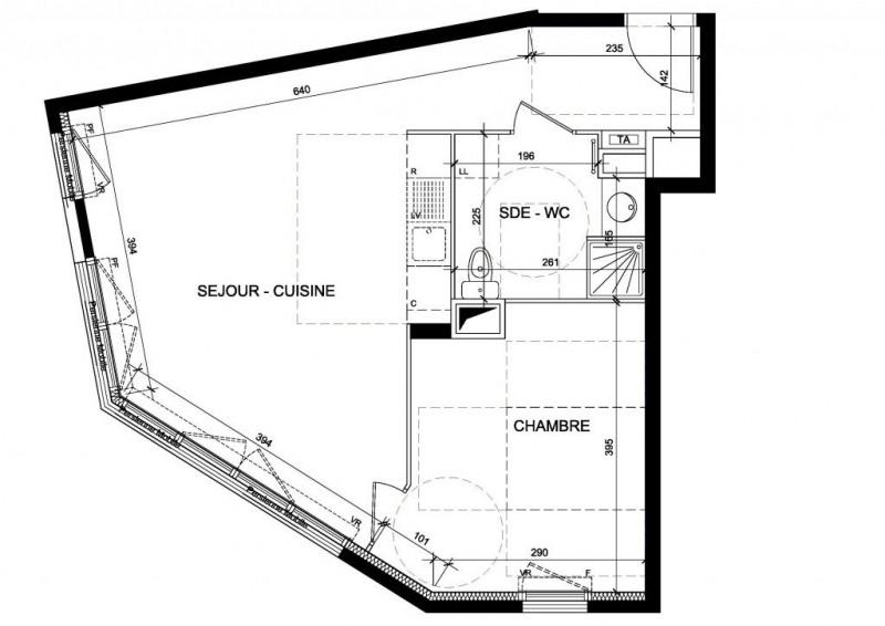 Vente appartement Chaville 295000€ - Photo 1