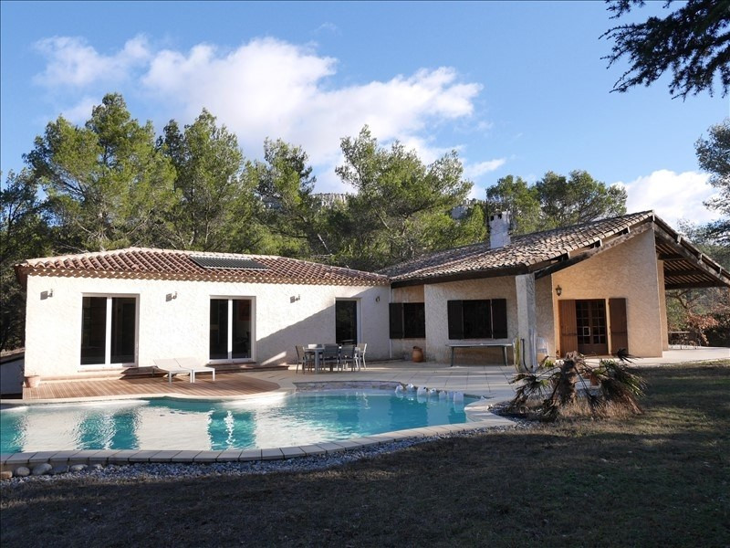 Vente de prestige maison / villa Beaurecueil 820 000€ - Photo 3