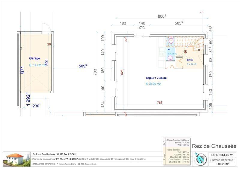 Venta  casa Palaiseau 285000€ - Fotografía 2