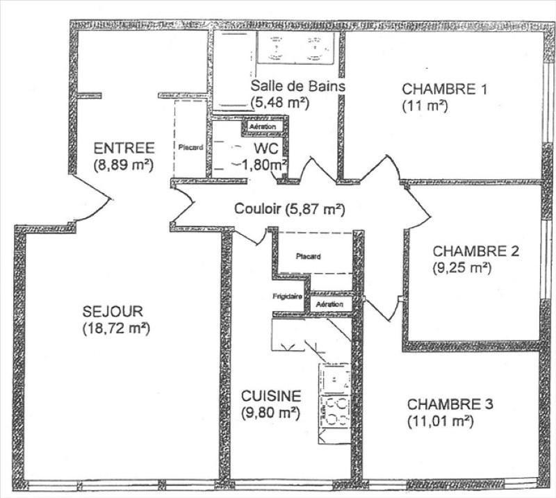 Vente appartement Gif sur yvette 259000€ - Photo 8