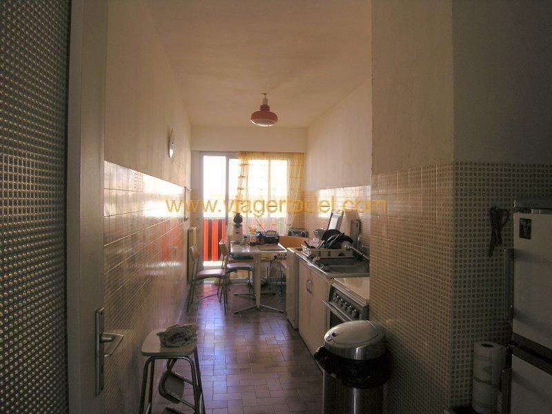 Vendita nell' vitalizio di vita appartamento Antibes 62000€ - Fotografia 12