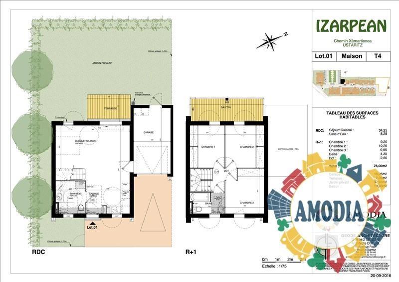 Vente maison / villa Ustaritz 249500€ - Photo 2