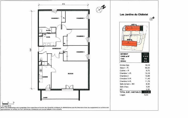 Vendita appartamento Toulouse 205000€ - Fotografia 3