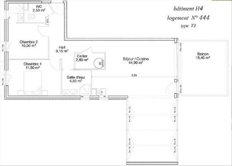 Deluxe sale apartment Le lavandou 497000€ - Picture 2