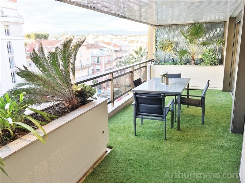 Deluxe sale apartment Cannes 1 270 000€ - Picture 1