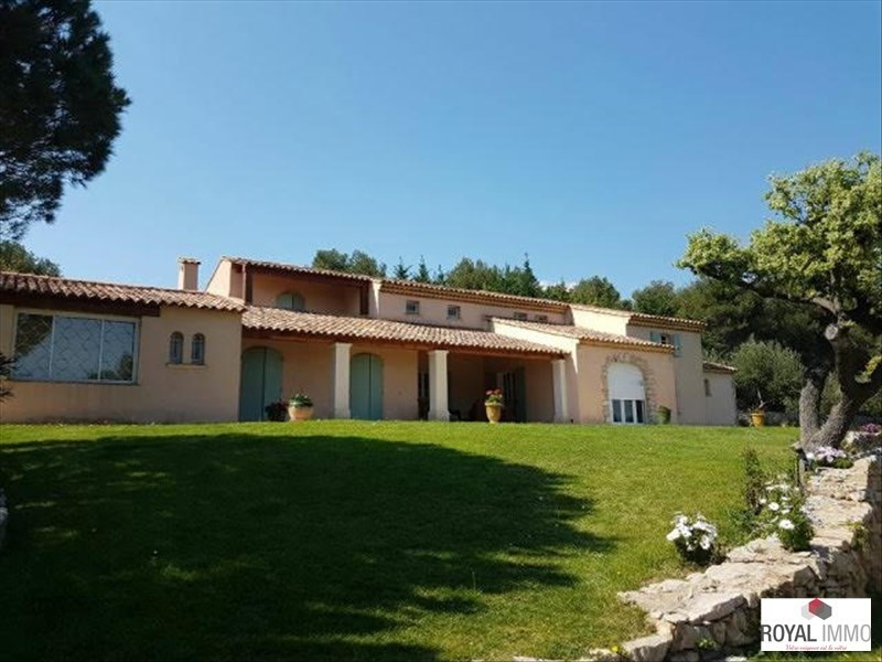 Deluxe sale house / villa Ollioules 2 260 000€ - Picture 1