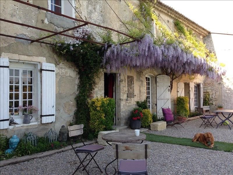 Vente de prestige maison / villa Le thor 585000€ - Photo 1