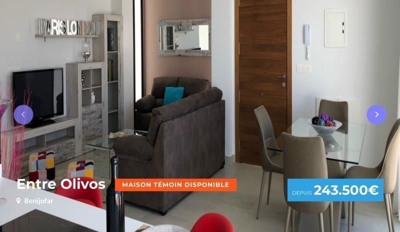 Venta  casa Province d'alicante 243500€ - Fotografía 1