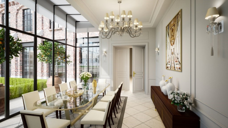 Vente de prestige hôtel particulier Paris 7ème 39900000€ - Photo 4