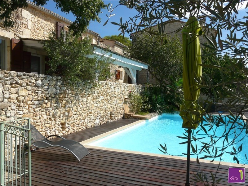 Deluxe sale house / villa Lussan 703 000€ - Picture 2