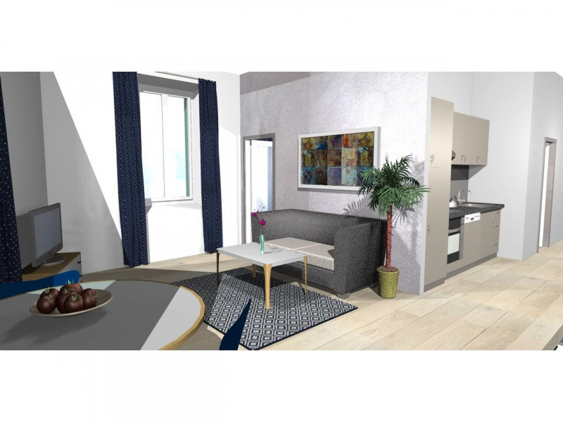 Vente appartement Nice 290 000€ - Photo 1