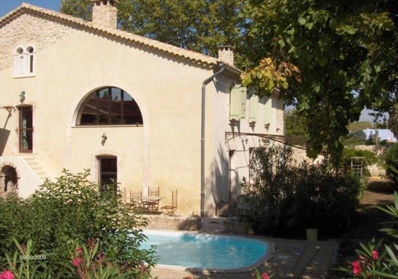 Revenda residencial de prestígio casa Montfavet 735000€ - Fotografia 1