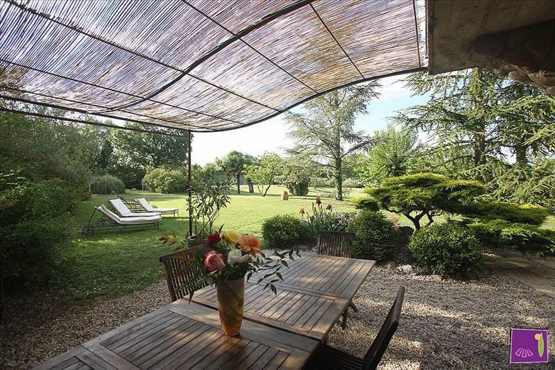 Vente de prestige maison / villa Barjac 525000€ - Photo 3
