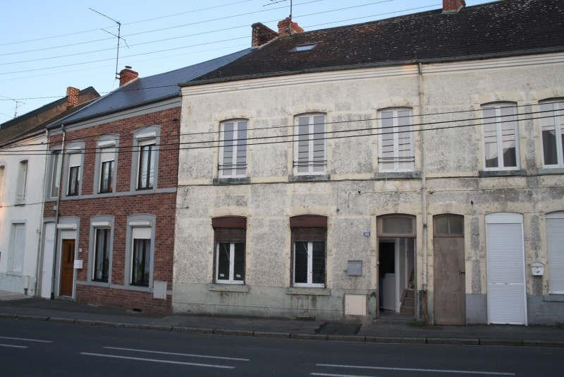 Sale building Aulnoye aymeries 111900€ - Picture 1
