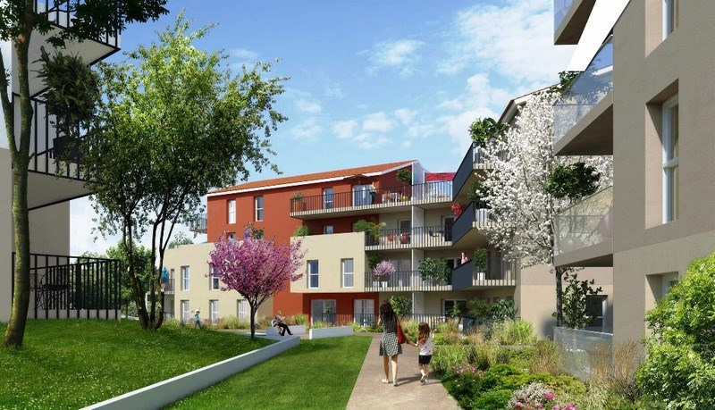 Rental apartment Rillieux la pape 841€ CC - Picture 1