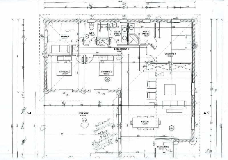 Verkoop  huis Lamothe capdeville 273500€ - Foto 4
