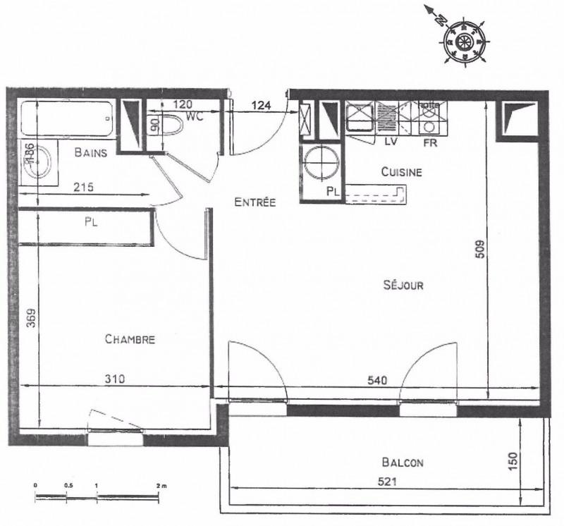 Vente appartement Perigueux 85500€ - Photo 2