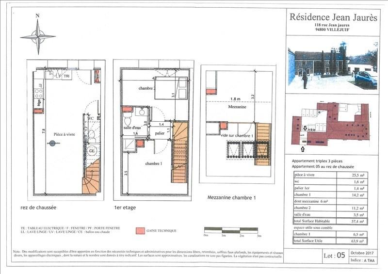 Investment property house / villa Villejuif 350000€ - Picture 1