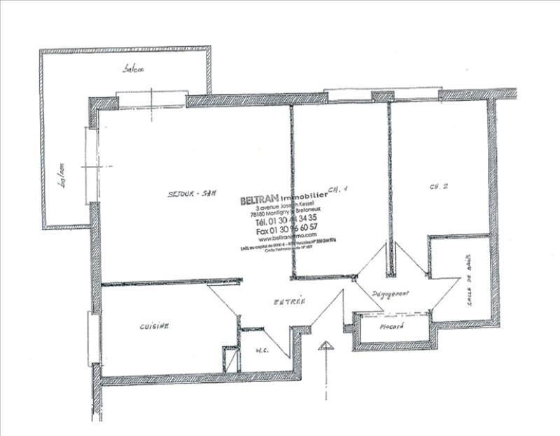 Revenda apartamento Montigny le bretonneux 236000€ - Fotografia 7