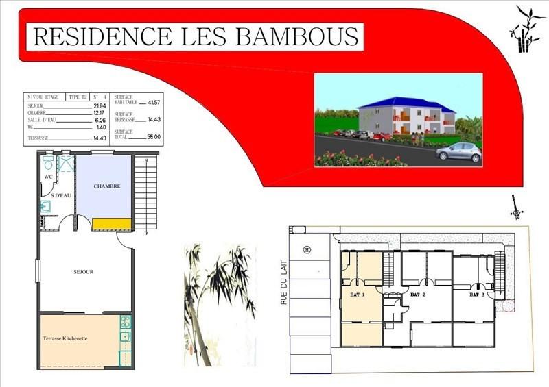Sale apartment Le moule 161500€ - Picture 2