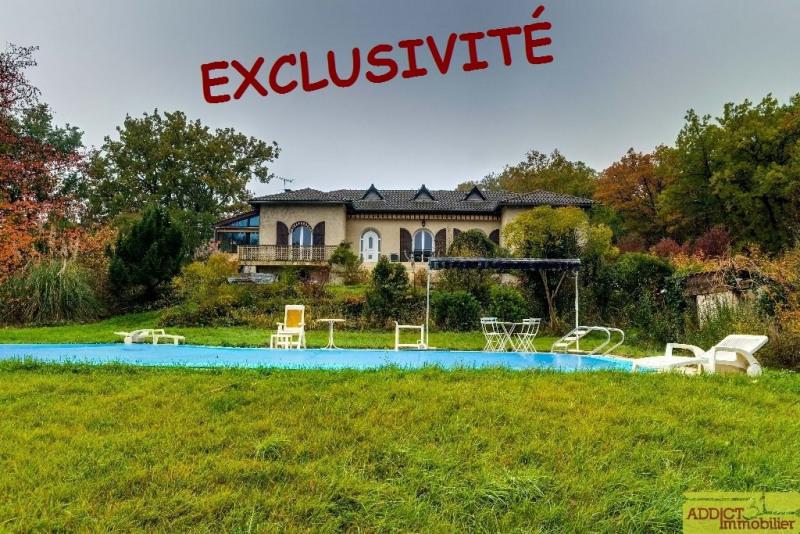 Vente maison / villa Secteur gragnague 440000€ - Photo 1