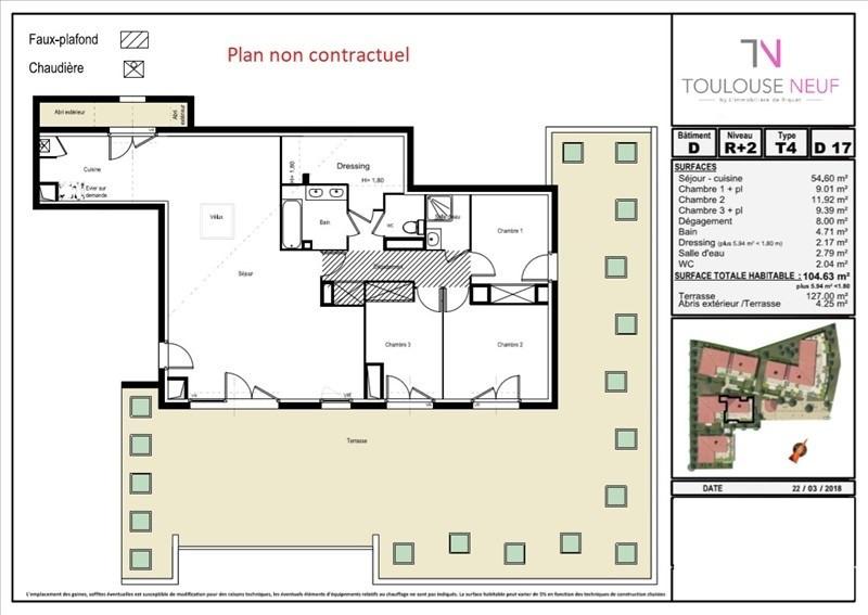 Vente appartement Tournefeuille 455000€ - Photo 4
