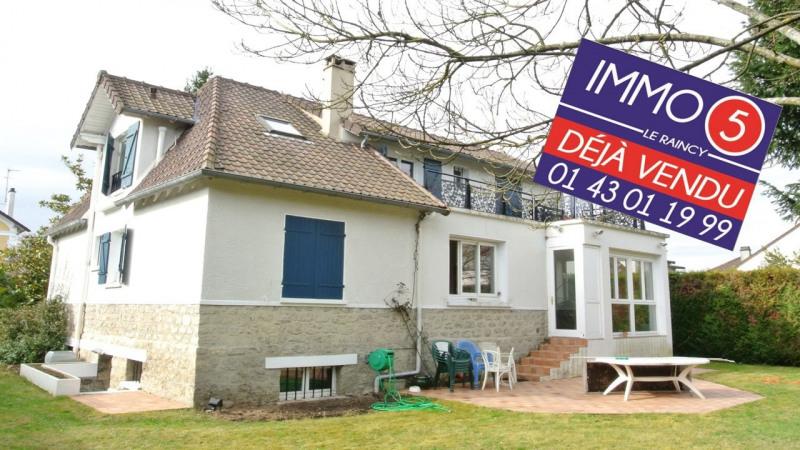 Vente maison / villa Villemomble 749500€ - Photo 1